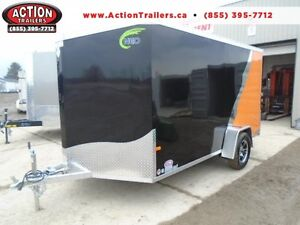 PERFECT MOTORCYCLE/SLED/ALL PURPOSE ALUMINUM NEO 7X12 TRAILER
