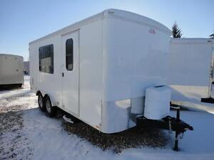 Cargo Mate 8 x 18 office trailer