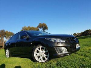 2009 Mazda 6 GH1051 MY09 Luxury Sports Sparkling Black 6 Speed Manual Hatchback Medindie Walkerville Area Preview