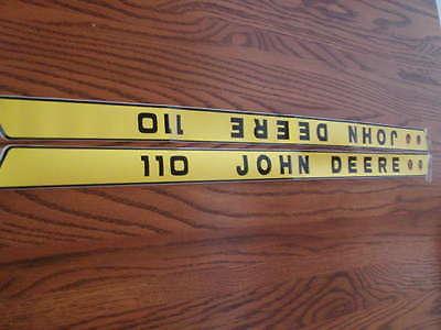 John Deere 110 LGT Hood Decals