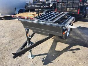 5x6 Flat Deck Trailer For Generators, Power Washers & More