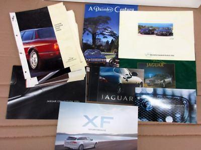 JOB LOT OF Miscellaneous JAGUAR Dealer Brochures