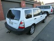 2005 Subaru Forester MY05 X White 5 Speed Manual Wagon Gilles Plains Port Adelaide Area Preview