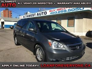 2007 Honda Odyssey EX-L LOADED LEATHER DVD
