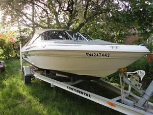 SEARAY 180 BOWRIDER WITH TRAILER