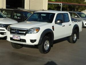 2011 Ford Ranger PK XL (4x2) White 5 Speed Automatic Dual Cab Pick-up Brendale Pine Rivers Area Preview