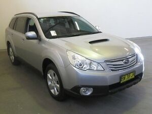 2012 Subaru Outback MY12 2.0D Silver 6 Speed Manual Wagon Westdale Tamworth City Preview