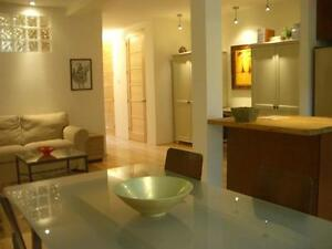 Fully furnished and equipped in the heart of the Plateau