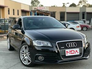 2010 Audi A3 8P tfsi ambition s line Black 6 Speed Automatic Hatchback Burleigh Heads Gold Coast South Preview