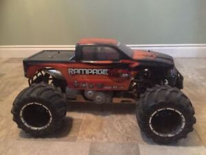 RC 1/5 scale rampage MT