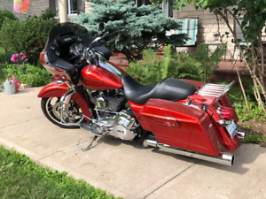 2013 Candy Orange Road Glide Custom FLTRX, Mint Condition