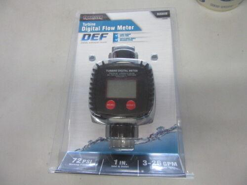 traveller turbine DEF digital flow meter 1289390