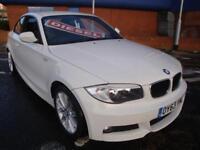 63 BMW 118D M SPORT DIESEL COUPE *SATNAV*LEATHER* £30 TAX