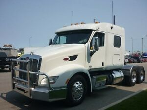 2014 Peterbilt 386, Used Sleeper Tractor