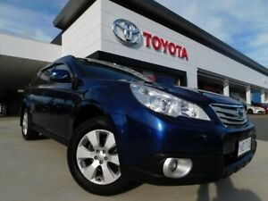 2011 Subaru Outback B5A MY11 2.5i Lineartronic AWD Touring Blue 6 Speed Constant Variable Wagon Greenway Tuggeranong Preview