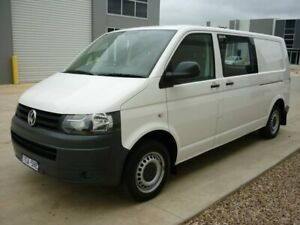 2013 Volkswagen Transporter T5 MY13 TDI340 LWB DSG White 7 Speed Sports Automatic Dual Clutch Van Grovedale Geelong City Preview