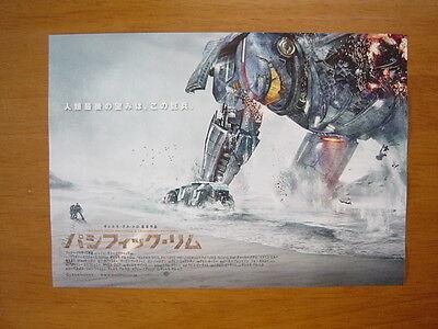 Pacific Rim movie FLYER mini poster chirashi ver.2 Japanese