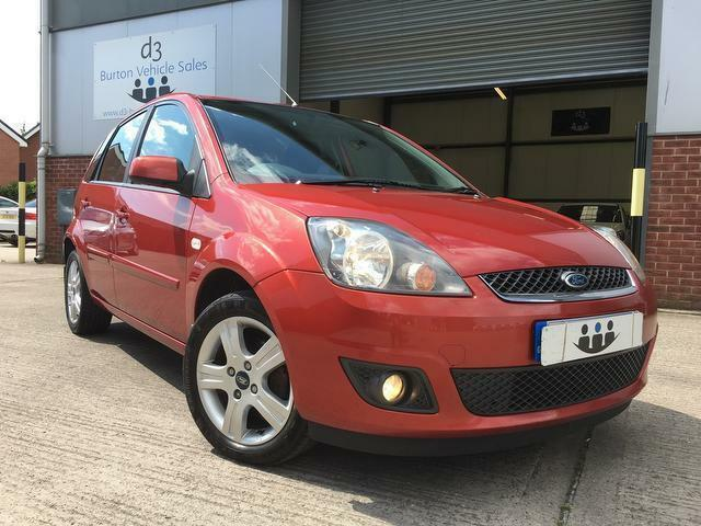 2008/08 Ford Fiesta 1.4 TDCi Zetec Climate TURBO DIESEL 5 Door Metallic Red FSH!