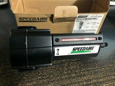 Speedaire In Line 12 Port Air Filter 250 Psig New 4zl49a