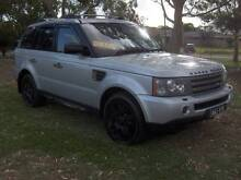 06 LANDROVER RANGEROVER SPORTS TURBO DIESEL 6CYL 2.7LTR 4X4 WAGON Mordialloc Kingston Area Preview