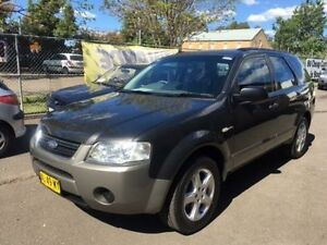 2006 Ford Territory SY TS (4x4) Grey 6 Speed Auto Seq Sportshift Wagon Campbelltown Campbelltown Area Preview