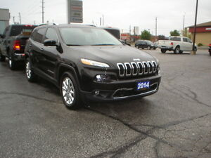 2014 Jeep Cherokee Limited Plus SUV, Crossover