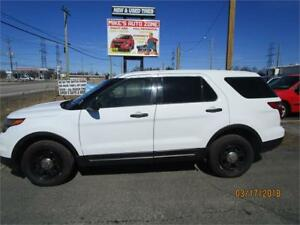 FORD EXPLORER POLICE INTERCEPTER 4X4