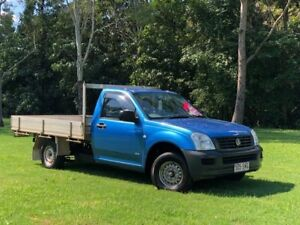 2005 Holden Rodeo RA MY05 DX Blue 5 Speed Manual Cab Chassis