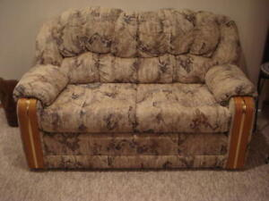 Hide - A - Bed & Love seat