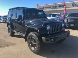 2016 Jeep WRANGLER UNLIMITED Sahara One local owner, low KM