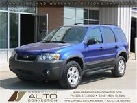 2005 Ford Escape XLT AWD ***LEATHER & LOW KM***