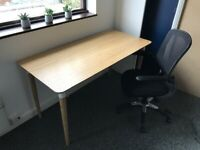 Ikea Desk and Chair Home Office Combo