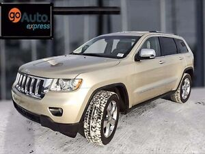 2011 Jeep Grand Cherokee Overland, navigation, leather