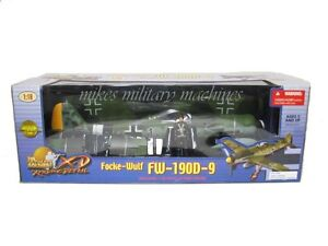 Ultimate Soldier XD 21st Century 1/18 German FW-190 Focke Wulf Black1 WWII Model