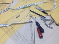 Pattern cutting lessons in London