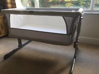 Chicco Next2me (Next to me) Cot Dove Grey