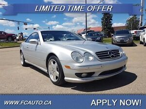 2002 Mercedes-Benz CL-Class CL 55 AMG Low KM Mus