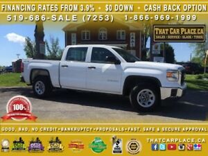 2015 GMC Sierra 1500 4x4|$113/Wk|Quad Cab|Backup CAM|Bluetooth