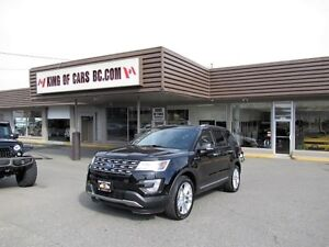 2017 Ford Explorer LIMITED EDITION 4WD
