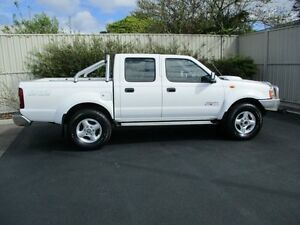 2013 Nissan Navara D22 Series 5 ST-R (4x4) White 5 Speed Manual Dual Cab Pick-up Devonport Devonport Area Preview
