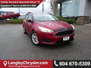 2015 Ford Focus SE *ACCIDENT FREE * LOCAL BC CAR *