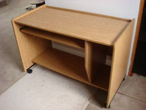 Office Desk with Keyboard Tray - Reduced!