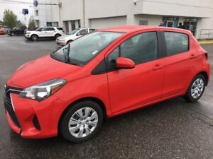 2015 Toyota Yaris LE with Bluetooth and A/C