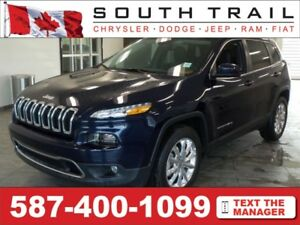 2016 Jeep Cherokee Limited -Call/txt/email ROGER @ (587)400-0613