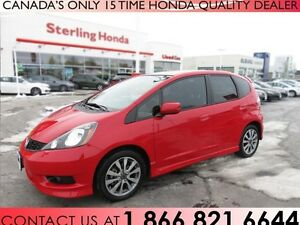 2014 Honda Fit SPORT | TINT | ALL WEATHER MATS | LOW KM'S !!