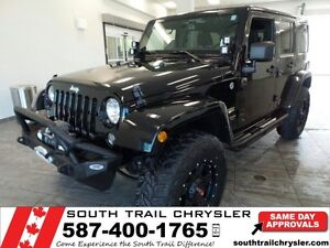 2014 Jeep Wrangler Unlimited Sahara CONTACT CHRIS TO VIEW!