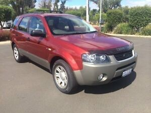 2004 Ford Territory SX Red 4 Speed Automatic Wagon Busselton Busselton Area Preview