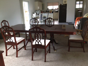Dining table and China cabinet set!