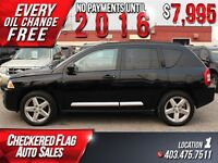 2007 Jeep Compass Limited W/ 4X4-Heated Leather-Cruise-AC