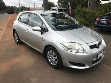 2007 Toyota Corolla ZZE122R MY06 Upgrade Ascent Seca Silver 4 Speed Automatic Hatchback Margaret River Margaret River Area Preview